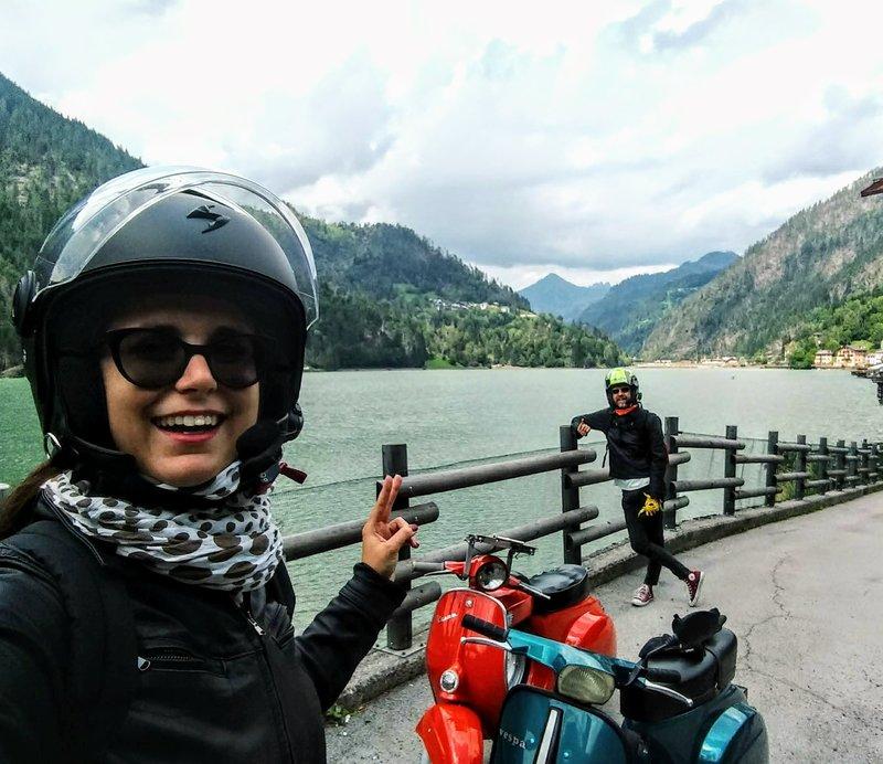 Vacanza in montagna - La squadra al completo con Olivia e la Super Gigia - CG