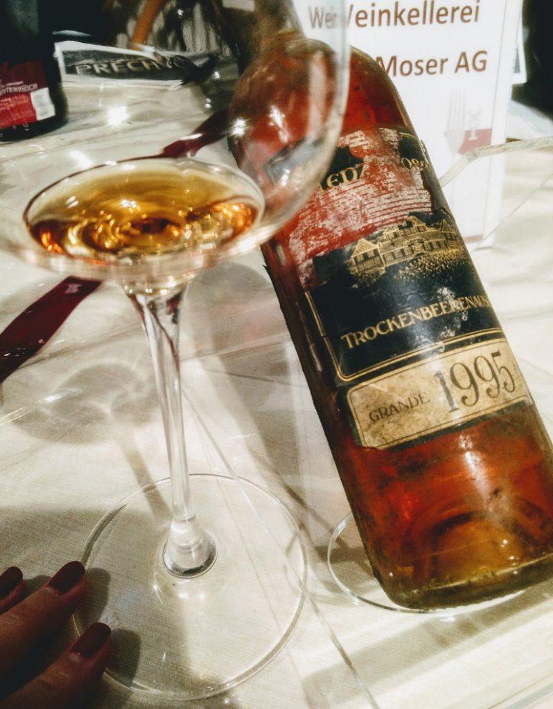 Trockenbeerenauslese vino dolce muffato