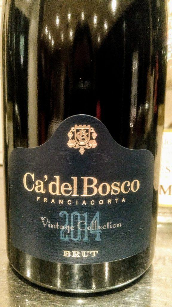 Giro in Lombardia - Franciacorta  Vintage Collection Brut 2014 - Ca' del Bosco cg
