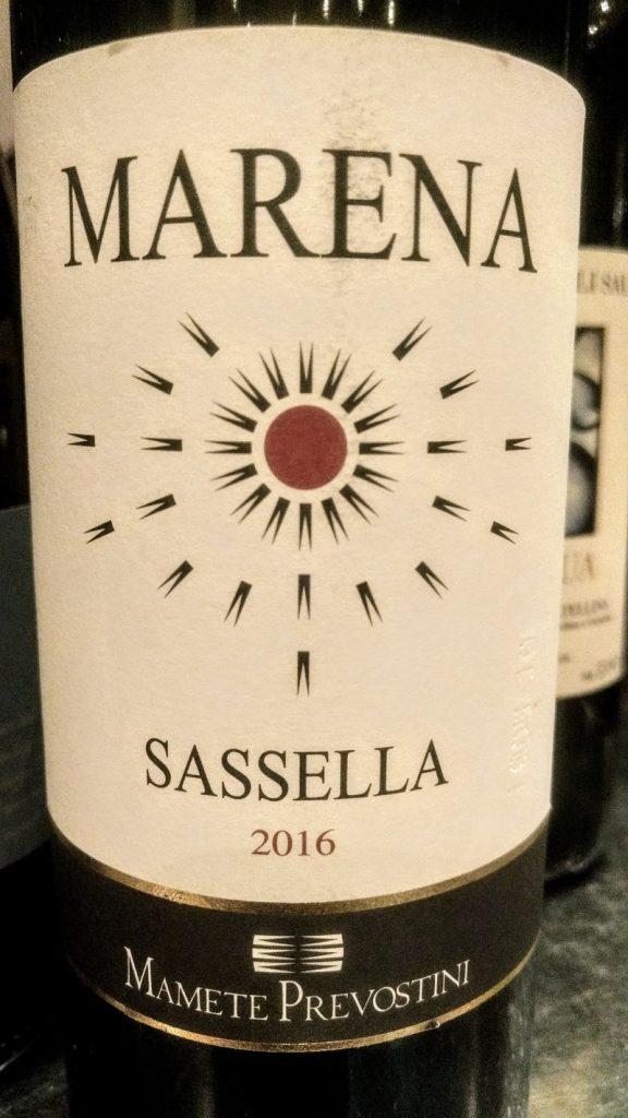 Valtellina Superiore Sassella Marena 2016 Mamete Prevostini cg